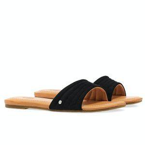 NEW IN BOX UGG Jurupa Slide Sandals in Black